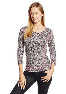 Jones New York Women's Animal Print Pullover