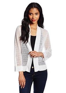 Jones New York Women's Bracelet-Sleeve Shrug Sweater