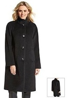 Jones New York® Women's Button Front Raglan Sleeve Alpaca