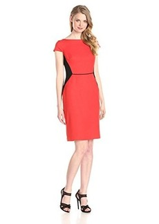 Jones New York Women's Color-Block Sheath Dress