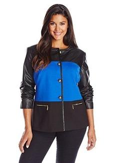 Jones New York Women's Color Blocked Jacket