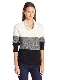 Jones New York Women's Colorblock Cowl Neck Pullover