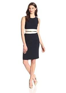 Jones New York Women's Colorblock Sheath Dress