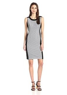 Jones New York Women's Combo Sheath Dress