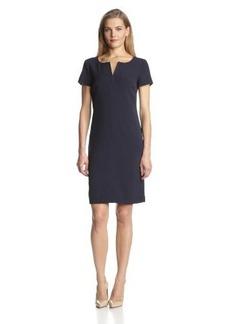 Jones New York Women's Crepe A-Line Dress