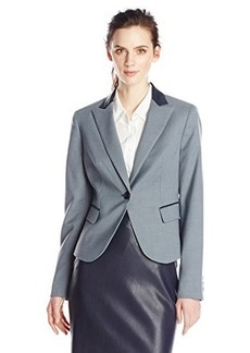 Jones New York Women's Cut Away Julia Jacket Navy Combo