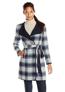 Jones New York Women's Double Face Long Coat