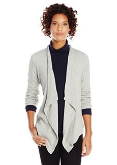 Jones New York Women's Drape Front Cardigan