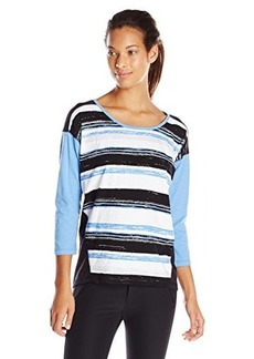 Jones New York Women's Dropped Shoulder Top