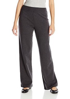 Jones New York Women's Easy Pant with Rib Charcoal