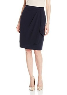 Jones New York Women's Faux Sarong Soft Skirt