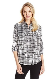 Jones New York Women's Fitted Shirt