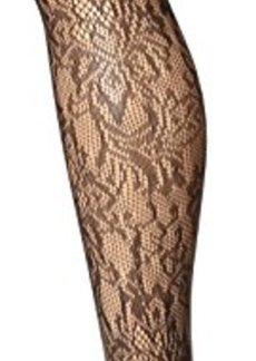 Jones New York Women's Floral Openwork Net Tight