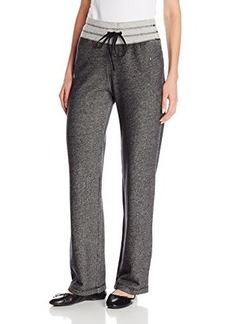 Jones New York Women's French Terry Slim Leg Pant