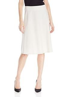 Jones New York Women's Half Circle Skirt Oyster