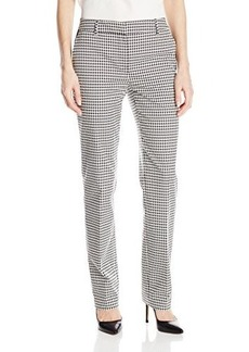 Jones New York Women's Jacquard Stovepipe Pant