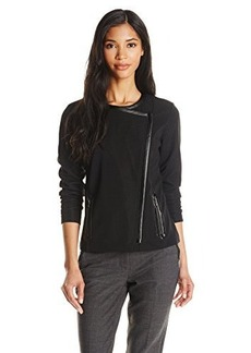 Jones New York Women's Long Sleeve Asymmetrical Cardigan