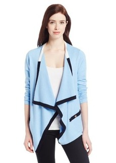 Jones New York Women's Long Sleeve Cardigan