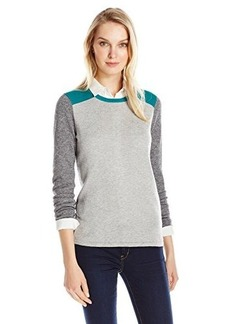 Jones New York Women's Long-Sleeve Color-Block Sweater