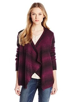 Jones New York Women's Long-Sleeve Striped Cardigan