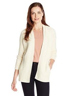 Jones New York Women's Long-Sleeve Textured Cardigan
