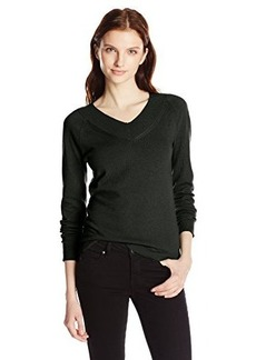 Jones New York Women's Long-Sleeve V-Neck Pullover