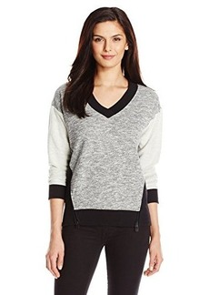Jones New York Women's Long-Sleeve V-Neck Shirt