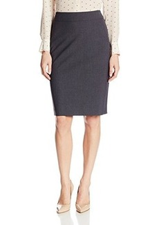 Jones New York Women's Lucy Solid Seasonless Stretch Pencil Skirt