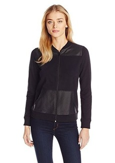 Jones New York Women's Mesh Yoke Jacket