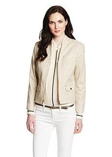 Jones New York Women's Peplum Back Jacket