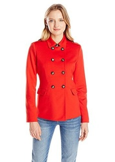 Jones New York Women's Petite Double Breasted Coat