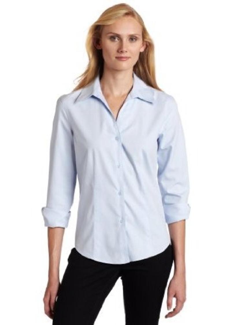 Jones new york jones new york women 39 s petite long sleeve for No iron white shirt womens