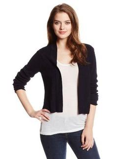 Jones New York Women's Petite Open-Front Cardigan Sweater