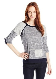 Jones New York Women's Petite Raglan Pullover