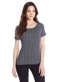 Jones New York Women's Petite Short Sleeve T-Shirt