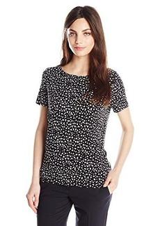 Jones New York Women's Petite Short Sleeve T Shirt
