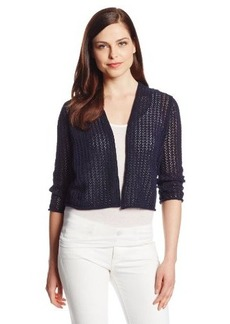 Jones New York Women's Petite Solid Cardigan