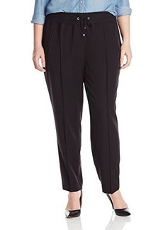 Jones New York Women's Plus-Size Knit Waistband Pant