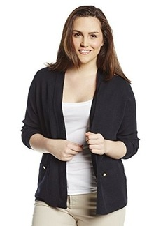 Jones New York Women's Long Sleeve Open Front Cardigan