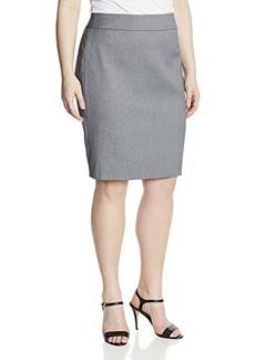 Jones New York Women's Plus-Size Lucy Pencil Skirt