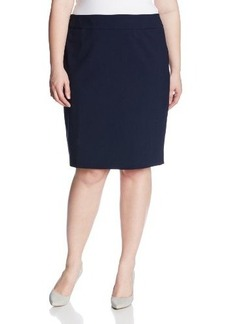 Jones New York Women's Plus-Size Lucy Pencil Skirt