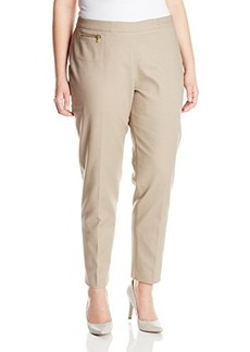 Jones New York Women's Plus-Size Narrow Pant with Coin Pocket