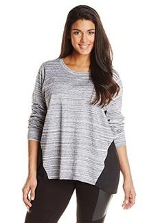 Jones New York Women's Plus-Size Pleated Pullover