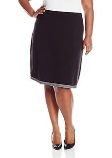 Jones New York Women's Plus-Size Pull-On Skirt