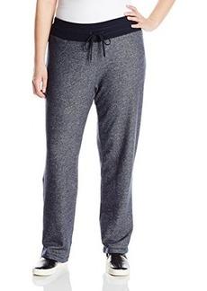 Jones New York Women's Plus-Size Rib Waist Easy Pant