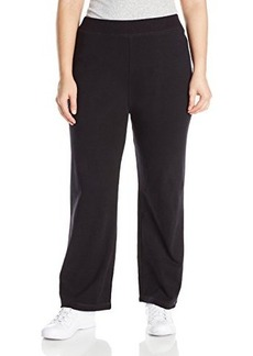 Jones New York Women's Plus-Size Rib Waist Easy Pant