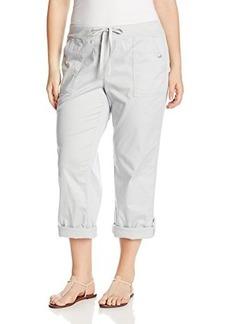 Jones New York Women's Plus-Size Roll Up Cargo Pant