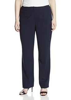 Jones New York Women's Plus-Size Sloane Classic Fit Pant