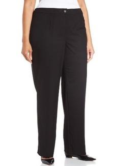 Jones New York Women's Plus-Size Sloane Seasonless Stretch Classic Pant