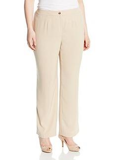 Jones New York Women's Plus-Size Sloane Soft Suiting Classic-Pant